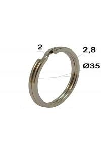 Кольцо заводные Ø35 * 2 мм (плоское)