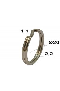 Кольцо для ключей, 20 мм