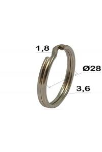 Кольцо для ключей, 28 мм