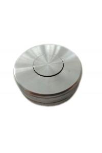 Футляр с кнопкой на резьбовой крышке