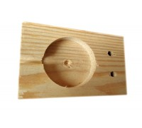 Планка деревянная для опечатывания
